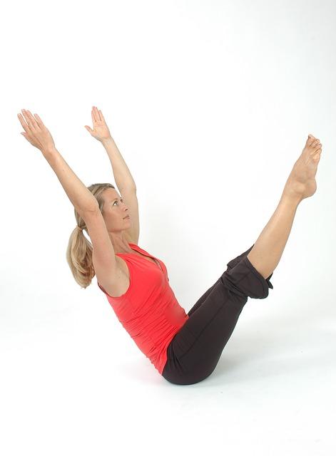 exercice pilates pour un ventre plat