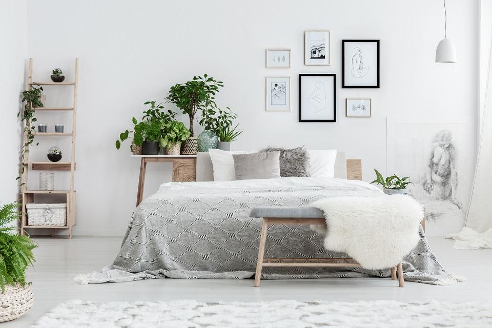 joli cadre de lit